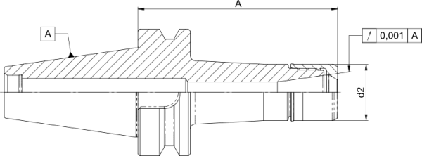 Präzisions-Spannzangenfutter CentroGrip® BT40
