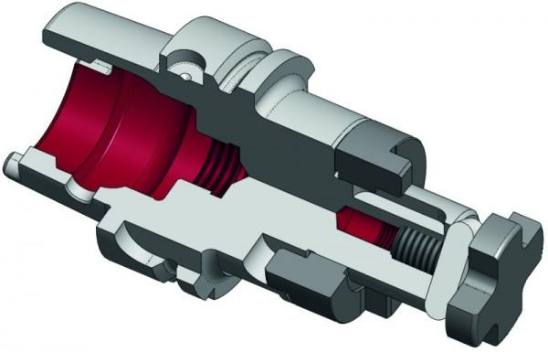 Kombi-Aufsteckfräsdorn HSK-A63