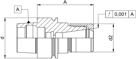 CentroGrip® HSK-E50 DIN69893