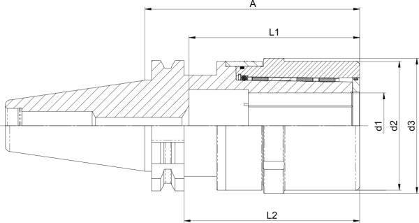 Kraftspannfutter UltraGrip® SK50