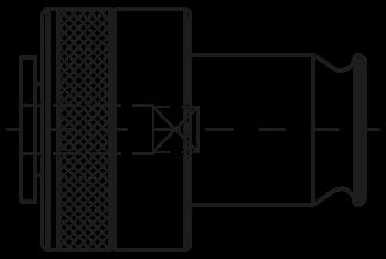 Schnellwechseleinsätze Typ WEK mit Rutschkupplung