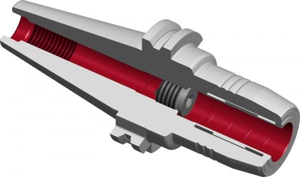 Hydraulische Dehnspannfutter TENDO E compakt SK40