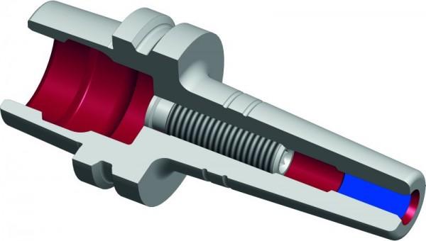 Schrumpffutter TSF HSK-E25 Schlanke Ausführung