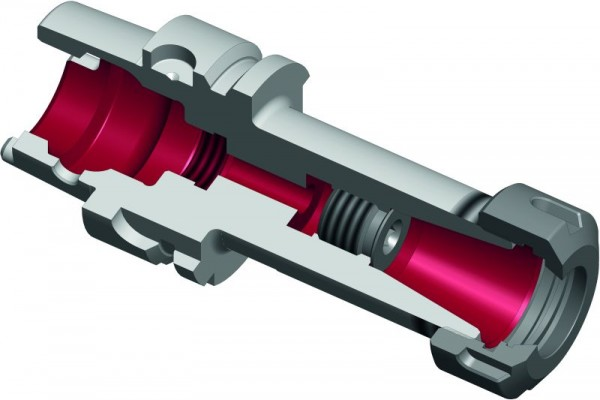 Spannzangenfutter HSK-A40