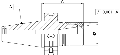 CentroGrip® SK40- DIN69871 A-D