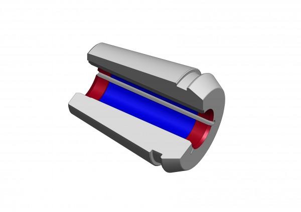 Schrumpfspannzangen TER 11 mit Kühlkanälen
